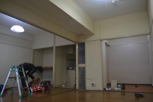 泰生ビル307号室工事前